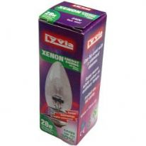 Dencon 28w 370lm Candle Xenon Lamp - BC (Boxed)